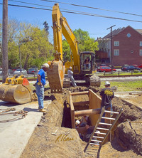 Utilities Construction in Princeton IN